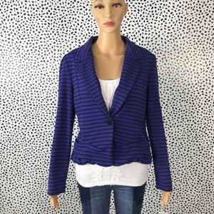 Anthro || Cartonnier blue blazer size medium
